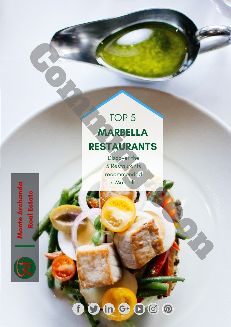 eBook Top 5 Marbella Restaurants