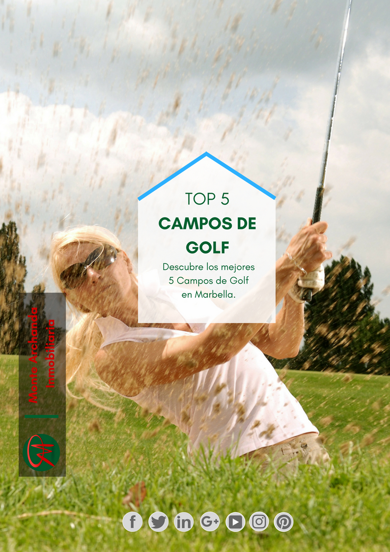 Top 5 Campos de Golf Marbella