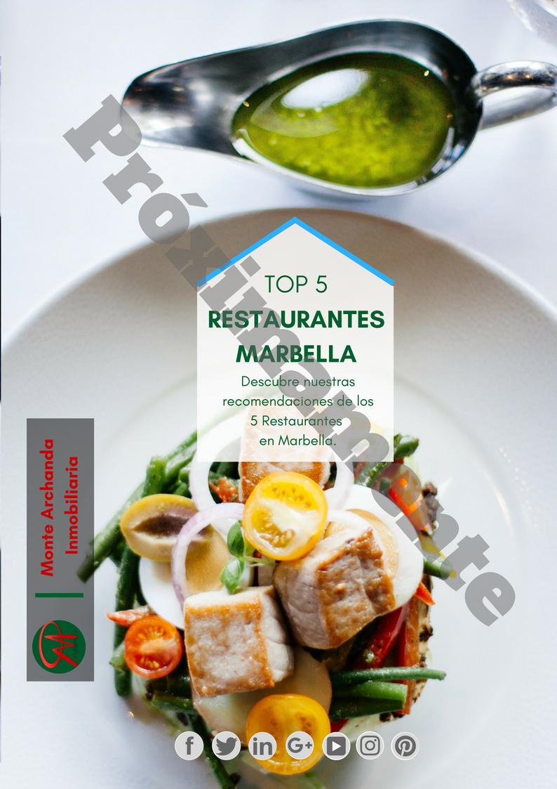 Guia de Top 5 Restaurantes Marbella